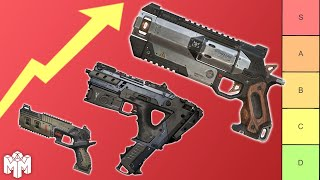 The Apex Legends Weapons Tier List