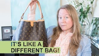 QUICK TIP: Louis Vuitton Delightful Strap Hack || Autumn Beckman