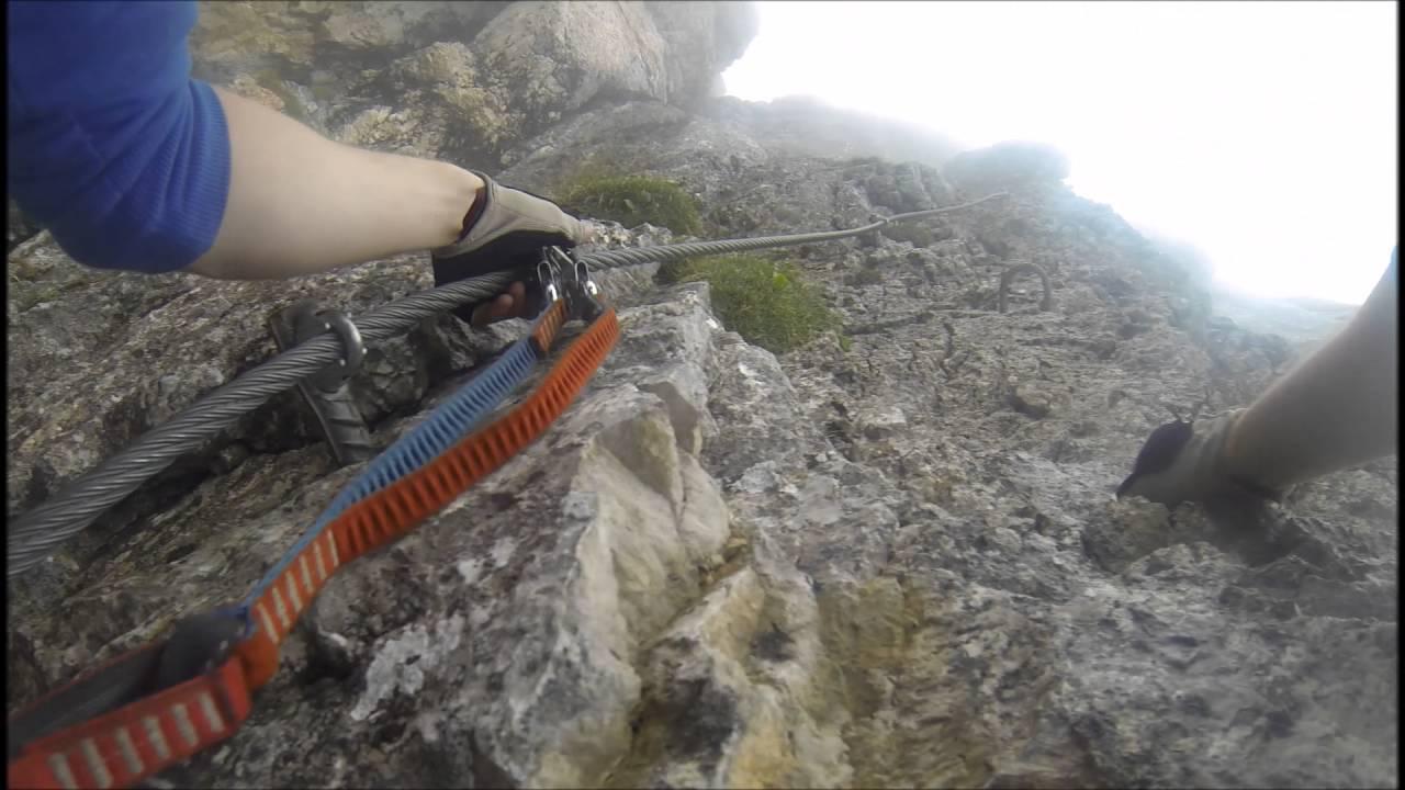 Klettersteig Rating : Sinabell klettersteig youtube