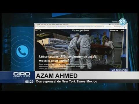 """""""Estoy a favor de la transparencia, no en contra de AMLO"""": periodista del NYT"""