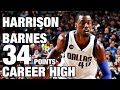 Harrison Barnes Sets Career High 34 Points in Mavs Victory