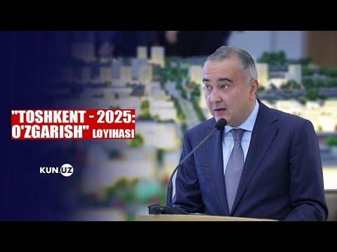 """""""TOSHKENT - 2025: O'ZGARISH"""" LOYIHASI TAQDIMOTI O'TKAZILDI"""