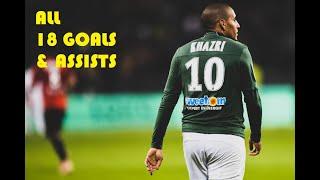 Wahbi Khazri - All 18 Goals & Assists - 2018/2019