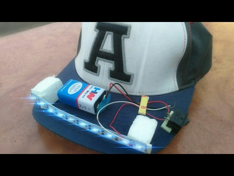 How to make LED CAP  8ebb431007d6