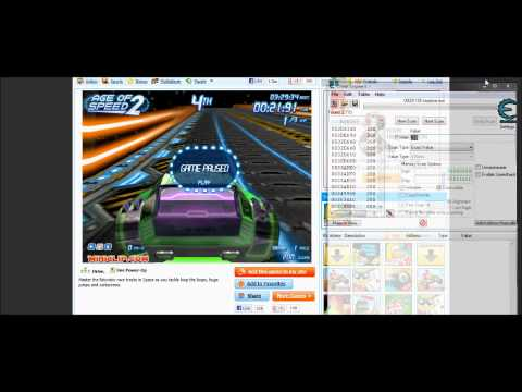 How to hack age of speed 2 with cheat engine 6.1