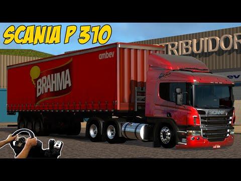 SCANIA P310 SUSPA  A AR - DISTRIBUIDORA AMBEV SP - VOLTA REDONDA RJ, G27!!!