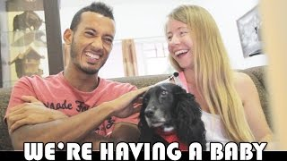 pregnancy announcement we re having a baby daily vlog aditl ep265