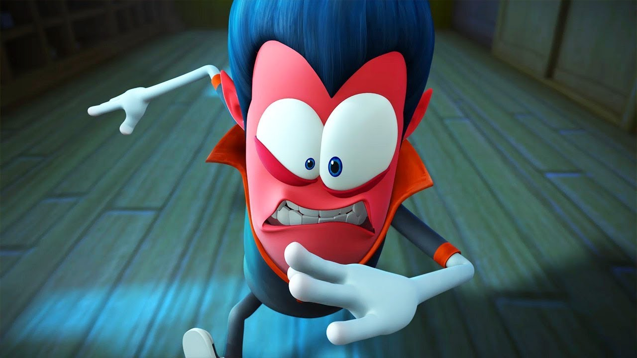 Spookiz On Fire 스푸키즈 Funny Zombie Cartoon Videos For Kids Youtube