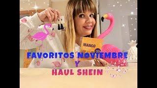 FAVORITOS NOVIEMBRE Y HAUL SHEIN!!!!