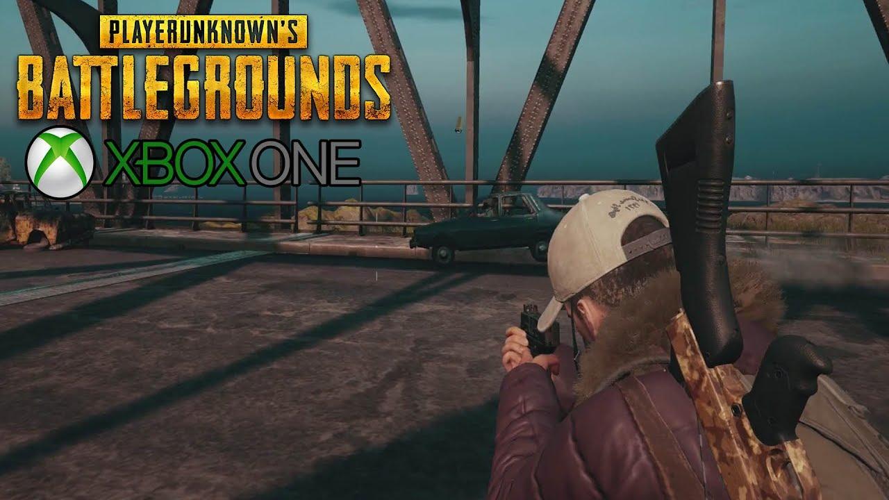 Playerunknown S Battlegrounds Pubg Xbox One X Gameplay No