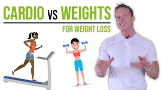 WHICH IS BEST FOR WEIGHT LOSS - CARDIO OR WEIGHT TRAINING FOR WEIGHT LOSS? #LLTV