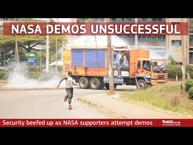 NASA demos unsuccessful as Matiang'i beefs up security