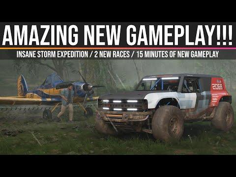 Новые 15 минут геймплея Forza Horizon 5