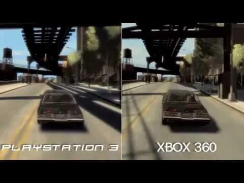 GTA IV Comparao XBOX 360 vs PS3 - YouTube