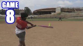GABE HOMERS ONTO A FREEWAY! | On-Season Softball Series | Game 8
