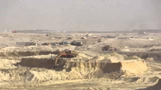 قناة السويس الجديدة:نقل منصة قناة السويس الجديدة بعد أقتراب الحفر منها