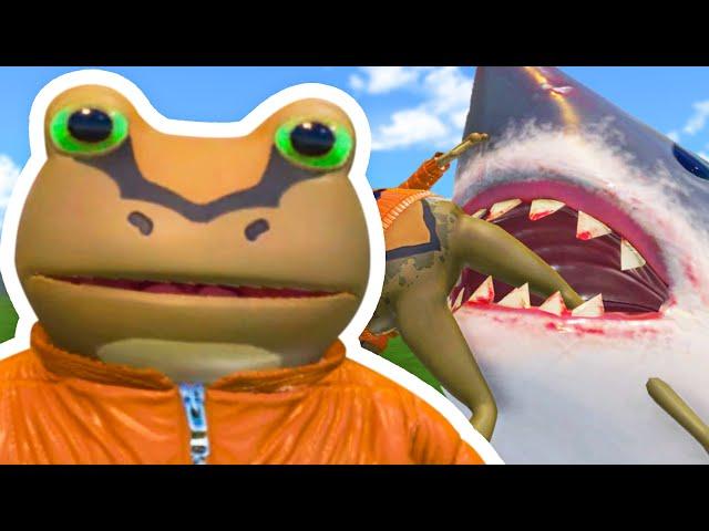 The BIGGEST Amazing Frog UPDATE! V3 - Amazing Frog Part 179 | Pungence