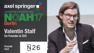 Fireside Chat: Valentin Stalf, N26 - NOAH17 Berlin