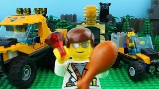 LEGO City Jungle Explorer Fail STOP MOTION LEGO Panther Brick Building | LEGO City | By Billy Bricks