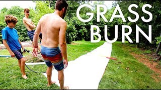 OUR DIY REDNECK SLIP AND SLIDE : Adventuring Family of 11