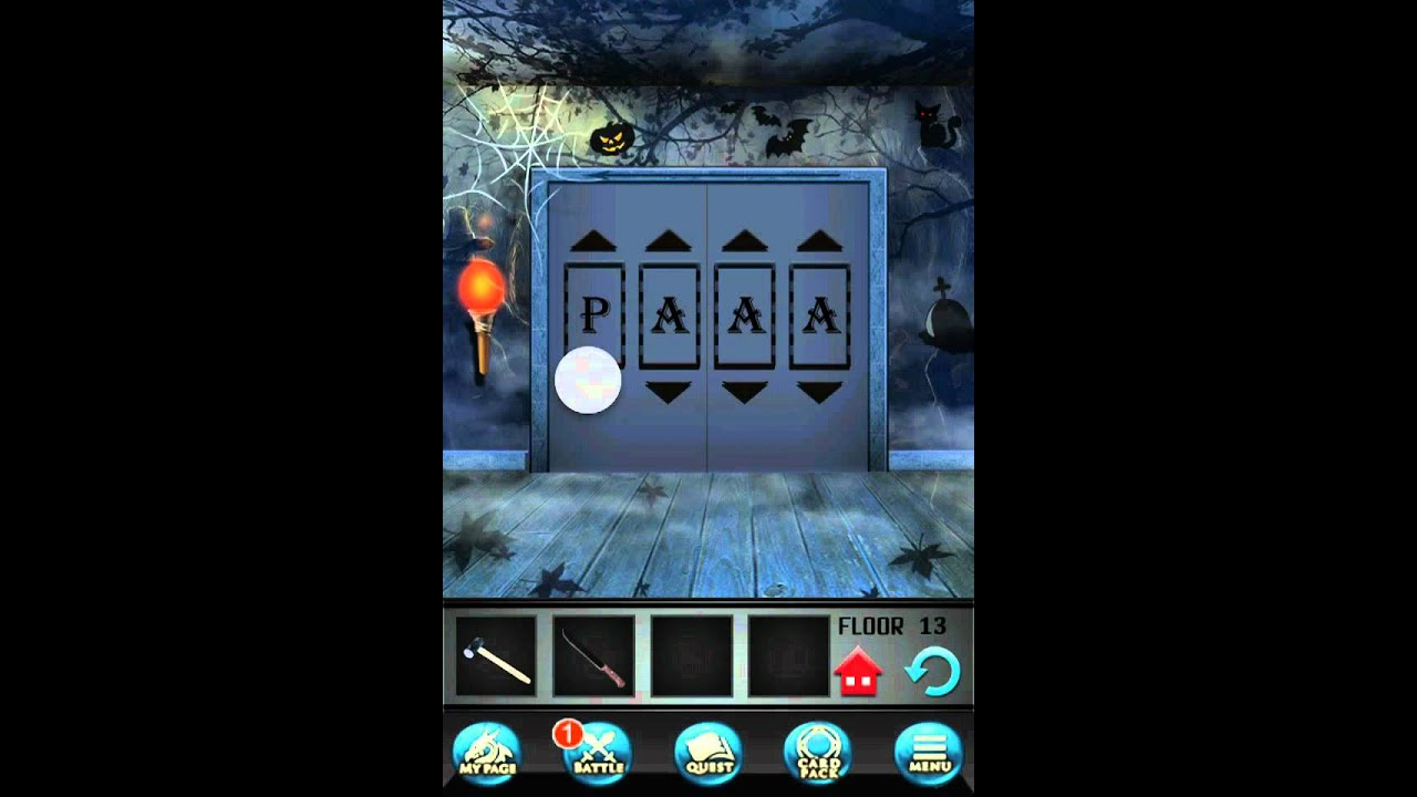 100 Floors Seasons Tower Level 13 Halloween Walkthrough Solution Apple And Android Youtube