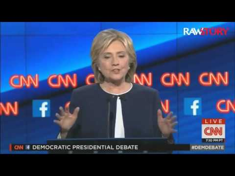 2016 Debate: Dem candidates discuss college tuition