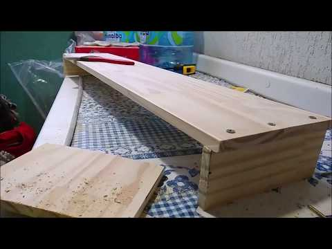 Making of l Wooden Monitor Stand