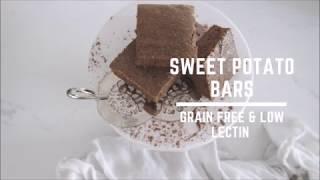 Grain Free, Low Lectin Sweet Potato Bars