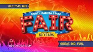 The 2015 North Dakota State Fair Country Concerts Are Great. Big. Fun.