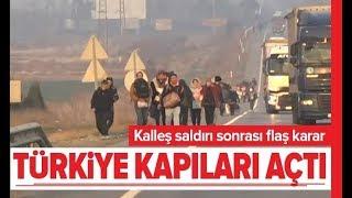 Son Dakika: Kapılar Açıldı! Göçmenler Avrupa'ya Gidiyor! / A Haber