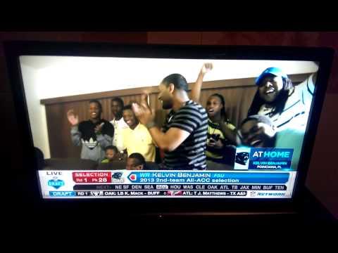 Panther's Kelvin Benjamin 2014 NFL Draft Dxterity's Reaction