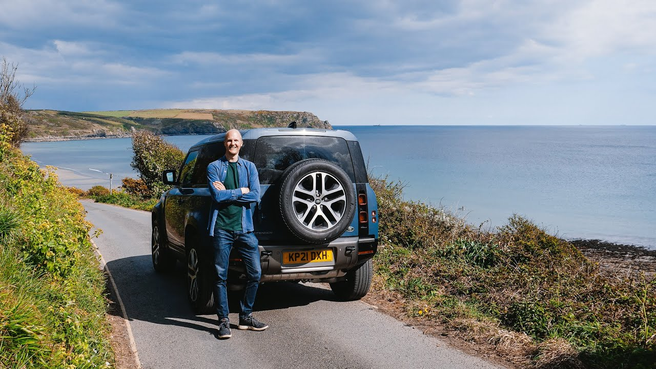 Exploring Cornwall In A NEW Defender 90