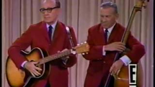 Jack Benny and George Burns on the Smothers Brothers Show 1967