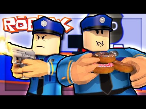 BECOMING POLICE OFFICERS IN ROBLOX!