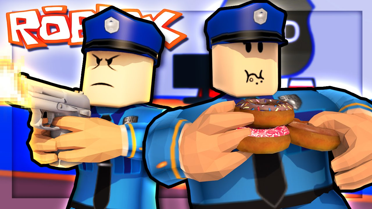 Becoming Police Officers In Roblox Youtube
