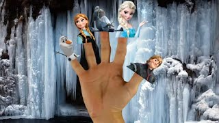 Finger family | finger family song | Fun4kids | frozen cast | fun4kids Nursery Rhymes