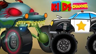 Vehicle Videos For Babies | Kids Car Cartoon Shows | Street Vehicles | Cars, Trucks Stories
