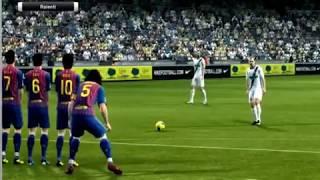 Pro Evolution Soccer 2012 Gameplay PC