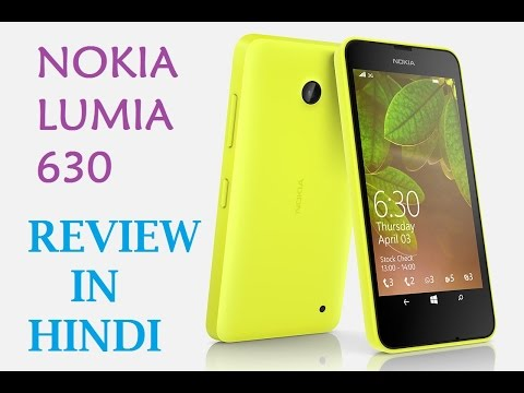 Nokia Lumia 630 Full Review In Hindi