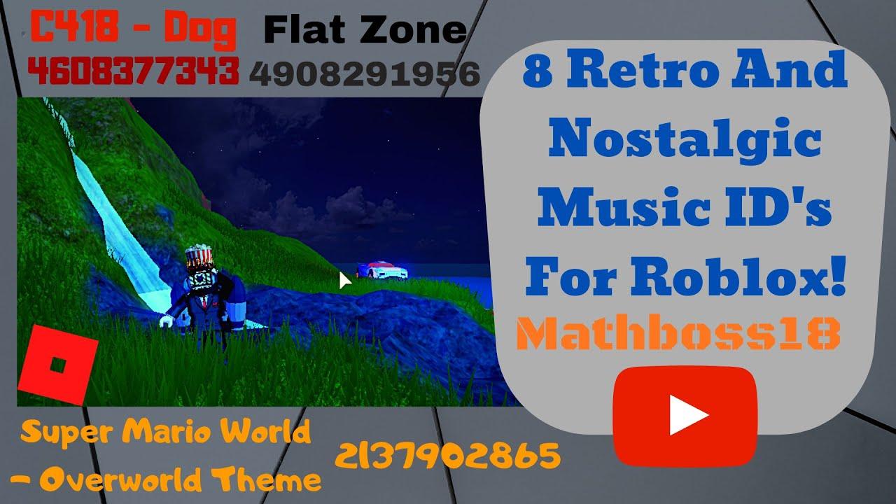 8 Retro And Nostalgic Music Id S For Roblox Roblox Music Codes