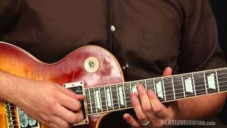 Guitar lesson Lynyrd Skynyrd inspired southern rock soloing licks and ideas on a Gibson Les Paul