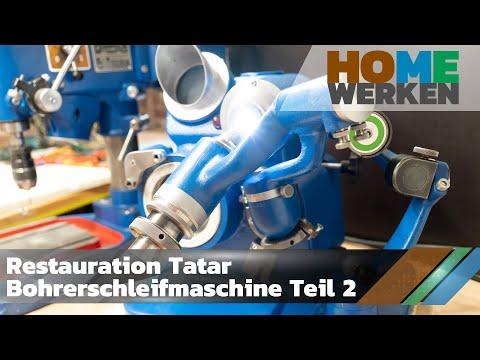 restauration-tatar-bohrerschleifmaschine-teil-2,-restoration-drill-sharpener-part-2