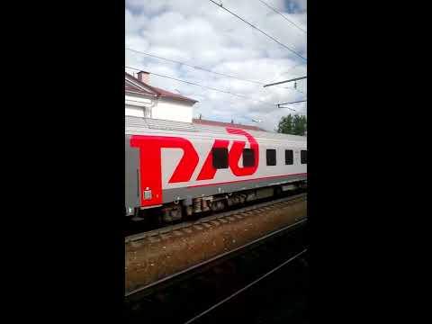 """-Из Смоленска в Москву на скоростном поезде""""Ласточка""""(эпизоды).Июнь 2015 года.-"""