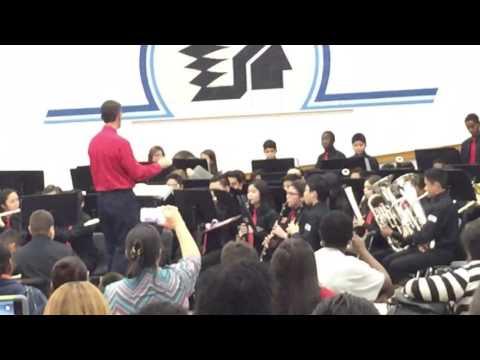 Hodges Bend Middle School-Winter Concert,2016