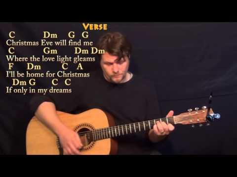 I'll Be Home For Christmas - C Major - Acoustic Guitar Instrumental Jamtrack