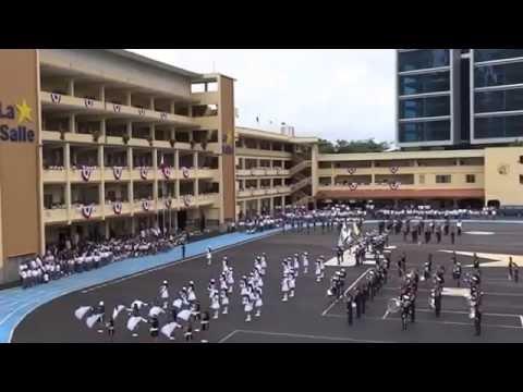 PRESENTACIÓN DEL BATALLÓN Y BANDA DE MÚSICA AL ALUMNADO 2015   video