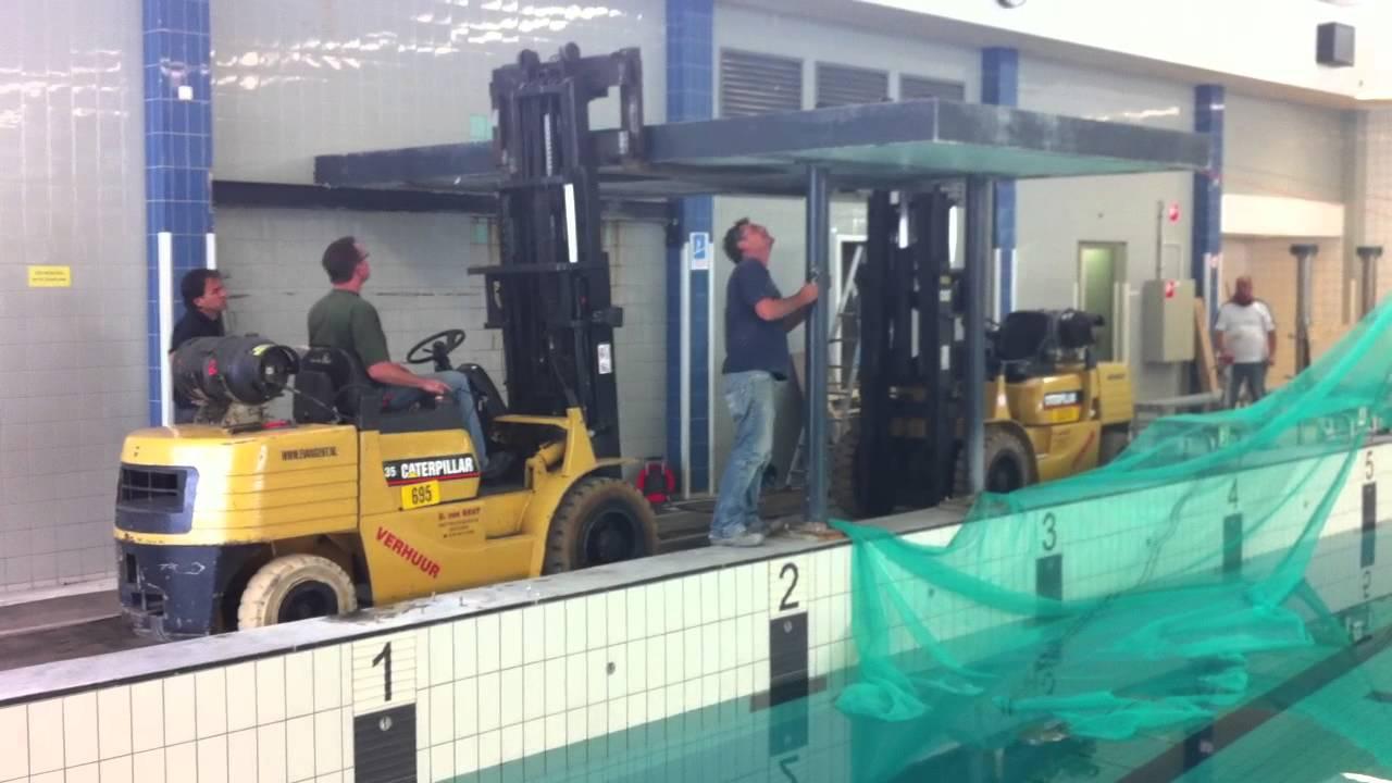 Zwembad West Nijmegen : Hooge duikplank zwembad west nijmegen youtube