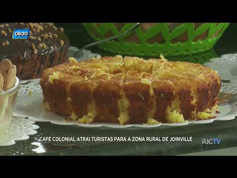 Destino SC Inverno: café colonial atrai turistas para a zona rural de Joinville