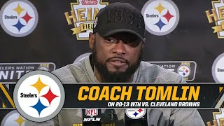 Download Tomlin  'We're looking to strike a blow for team' | Pittsburgh Steelers Mp3 and Videos