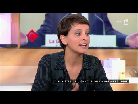 Najat Vallaud-Belkacem et la Refondation Ecole - C à vous - 04/05/2016